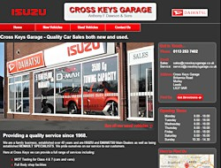 Link to Cross Keys Garage website