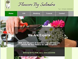 Link to Flowers by Salindra website