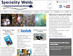 Link to Speciality Welds website